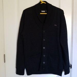 Men's VANS Button Up Cardigan Sweater